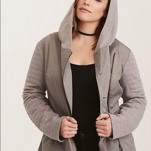 Torrid Star Wars taupe jacket size 2